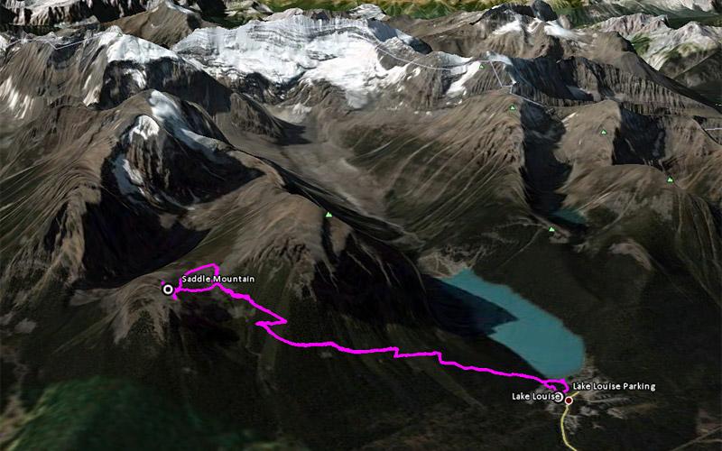 lake louise hiking trail map pdf